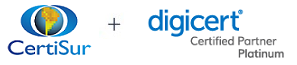 CertiSur + Digicert - Platinum Partner